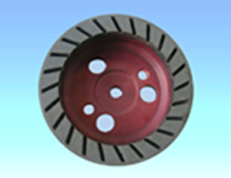RESIN SS CUP WHEEL(RED)